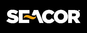 Seacor logo white